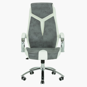 Columbia High Back Chair with Casters