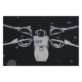 Star Wars X-Wing Fighter Single Fitted Sheet - 90x190 cms
