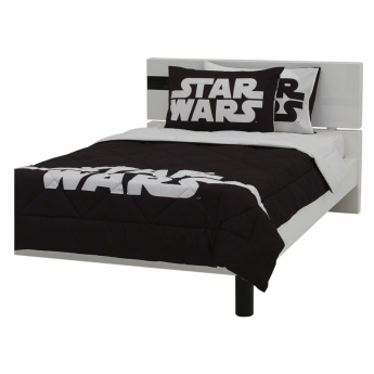 Star Wars Reversible 3-piece Queen Comforter Set - 200x240 cms