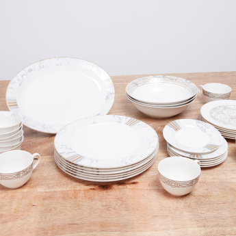Venezia Printed 34-Piece Dinner Set