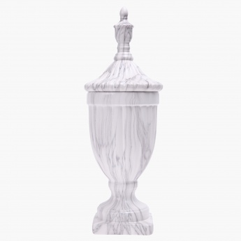 Marmoreal Urn with Lid