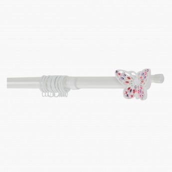 Butterfly Glam Double Curtain Rod