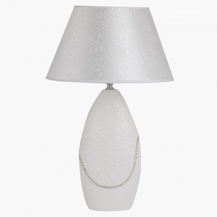 White Decorative Table Lamp