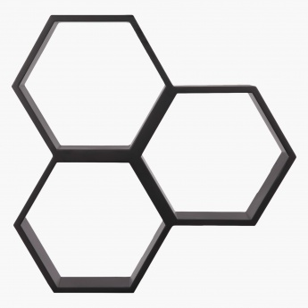 Honeycomb Cube Shelf