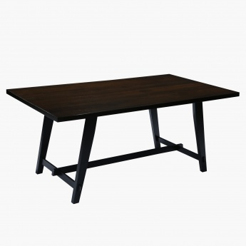Graham 6-Seater Dining Table - 180x100 cms