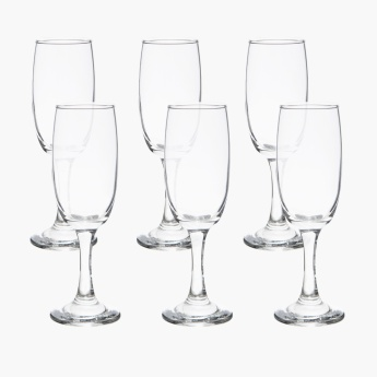 Excite Flute Glass - Set of 6