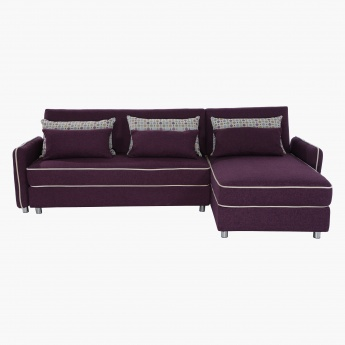 Dallas Right Corner Sofa Bed
