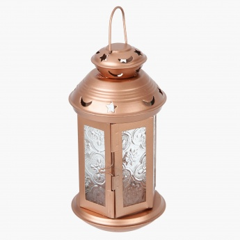 Aasar Start and Moon Cutwork Lantern - 8.5x8.5x18.5 cms