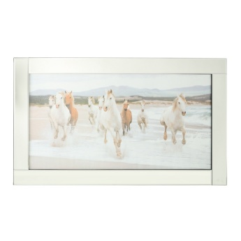 Havanna Mirror Framed Picture