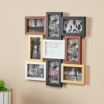Enzo 9-Photo Collage Frame - 4x6 inches