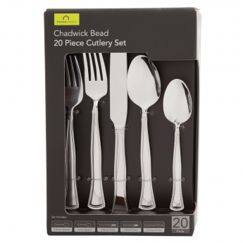 Chadwick Bead 20-pcs Cutlery Set