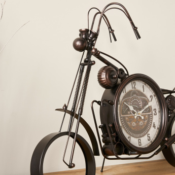 Harley Metallic  Motorcycle Wall Clock