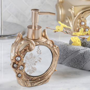 Victoria Engraved Liquid Soap Dispenser
