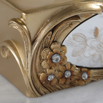 Victoria Embellished Tissue Box