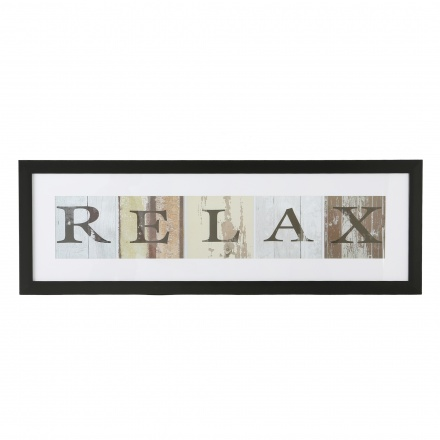 Relax Picture Frame