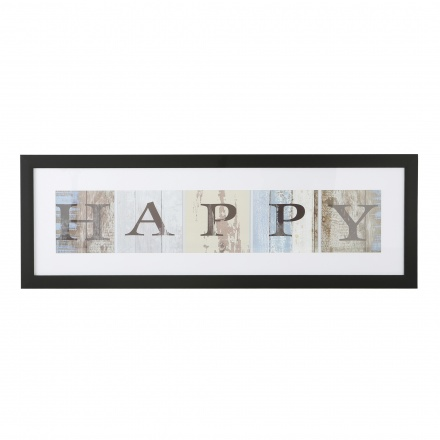 Happy Picture Frame