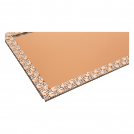 Shifaq Rectangle Candle Plate