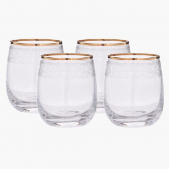 Mystic Crystal Glass - Set of 4