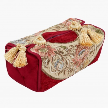 Majolika Tissue Box Cover