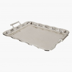 Arabia Rectangular Gallery Tray with Handle