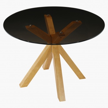 Eden 4-Seater Round Dining Table