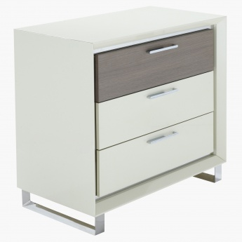 Vettora Dresser with Mirror and Stool