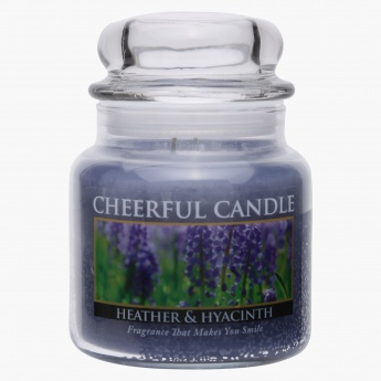 Heather Hyacinth Jar Candle