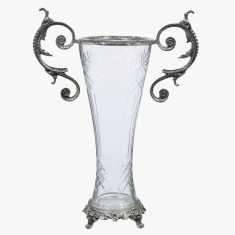 Magnificent Vase with Handle - 29x14x38 cms