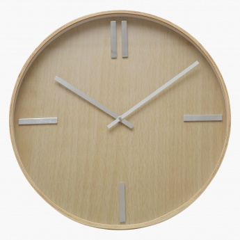Woodsie Wall Clock