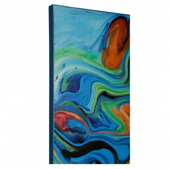 Precision Oil Painting - 100x3.5x100 cms