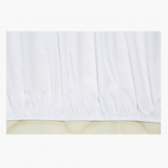 Serenity Full Fitted Sheet - 120x200 cms