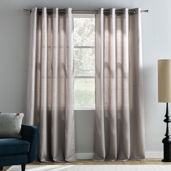 Odell Sheer Curtain Pair - 140x240 cms