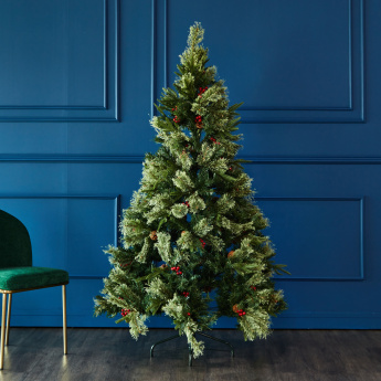 All Luxury Christmas Tree with Cones and Berries - 183 cms