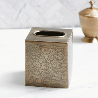 Bonita Square Tissue Box Holder