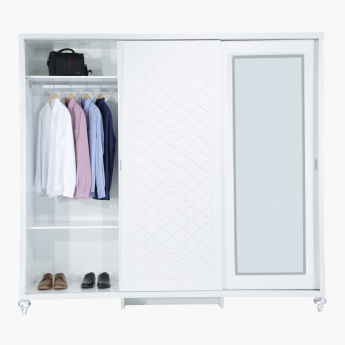Arabesque 3-Door Sliding Wardrobe
