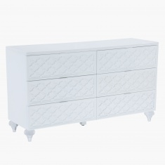 Arabesque 6-Drawer Dresser