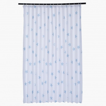 Sparkling Stars Shower Curtain