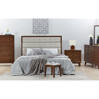 Lyra King Sized Bed - 180x210 cms