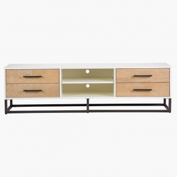Marrakesh 4-Drawer TV Unit with 2-Shelves