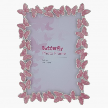 Butterfly Photo Frame - 6x4 Inch