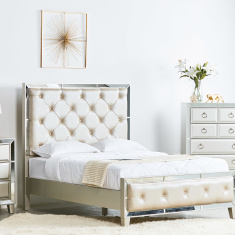 Majestic Queen Bed - 155x205 cms