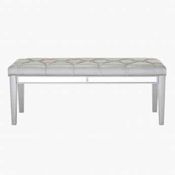 Majestic 3-Seater Tufted Bench