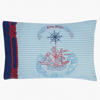 Li'l Pirates Single Comforter - 135x220 cms