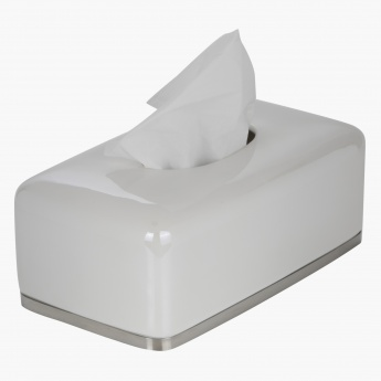 Lustrous Pearl Tissue Box Cover
