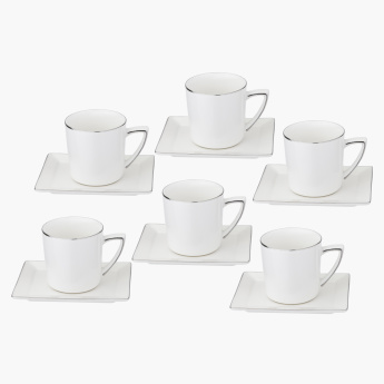 Astonish Espresso Cup and Saucer - Set of 6