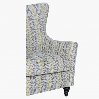 Elizabeth Accent Chair Chevron