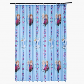 Frozen Springtime Frost Shower Curtain