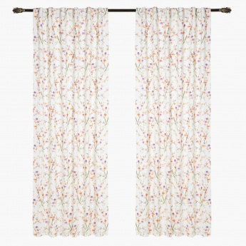 Eleta Lined Curtain Pair - 135x240 cms