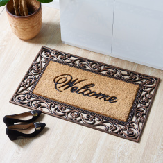 Welcome Festive Door Mat - 60x90 cms