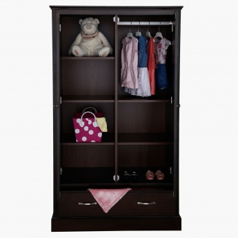 Little Sweetie Nursery 2-Door Wardrobe